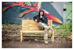 Benchlife... (LukeDaDuke) Tags: bench benchlife adm admamsterdam amsterdam iamsterdam man sit sitting city cityphotography citylife urban urbanlife street streetphotography streetlife