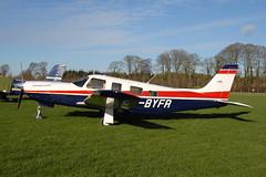 G-BYFR PA-32R Saratoga II HP (eigjb) Tags: weston airport eiwt dublin ireland light aircraft airplane plane spotting aviation 2019 general gbyfr pa32r saratoga pa32 piper