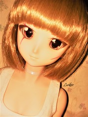 Orange (Lurkz D) Tags: lurker spunky doll dollfiedream custom vinyl volks