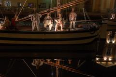 I presepi sulle barche - The cribs on the boats (Roberto Marinoni) Tags: cesenatico presepe cribs barca barche boat boats emiliaromagna bellitalia statue statues riflessi reflections