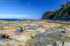 Shack Bay (simone_a13) Tags: australia victoria southgippsland inverloch coast coastline bluesky rockpool cliff landscape