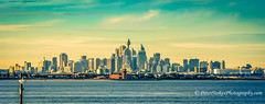 Sydney skyline and airport - looking across Botany Bay (Peter.Stokes) Tags: australia australian colour landscape landscapes nature newsouthwales panorama photo photography outdoors vacations sydney skyline airport botanybay