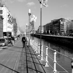Plan Canal (Spotmatix) Tags: belgium brussels builtin camera effects lx5 lens lumix monochrome places street streetphotography