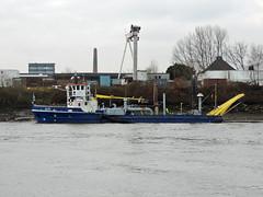 Akke (IMO 8842064) (Parchimer) Tags: wasserinjektionsbagger wasserinjektionsgerät arbeitsschiff workboat dredger hamburg elbe peute air injection luchtinjectievaartuig