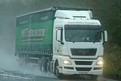 MAN Simon Oakey Transport EX12 UNK (SR Photos Torksey) Tags: transport truck haulage hgv lorry lgv logistics road commercial vehicle freight traffic man simon oakey