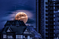 New West moon (Keylight1) Tags: mjk wolfmoon xt20 fullmoon