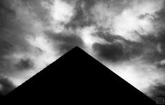 black pediment (MAICN) Tags: lines architektur building himmel mono linien sw clouds bw blackwhite monochrome geometrisch schwarzweis sky architecture wolken einfarbig 2019 geometry gebäude