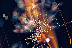 Flos Ignis Pluribus (pni) Tags: bokeh light bubble imageediting composite collage photomontage spark sky fireworks fire longexposure explosion venezianskafton veneziaden villaavslutningen venetsialaiset j18 jakobstad pietarsaari finland suomi pekkanikrus skrubu pni night dark