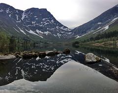 Bjørdalen -|- Located lake (erlingsi) Tags: no bjørdal sunnmøre ørsta noreg reflection spegling lake vatn