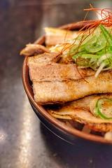 ミニ炙りチャーシュー丼 (HAMACHI!) Tags: kintonramen tokyo 2018 japan 三軒茶屋 sangenjaya ramen noodle food foodie foodporn foodmacro