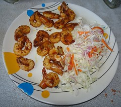 Prawns plain fry (joegoaukfishcurryrice) Tags: joegoauk goa fish curry rice