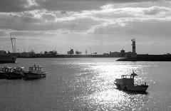 Kadıköy Seafront (n.okyayli) Tags: istanbul kadıköy nikond70s blackandwhite monochrome