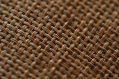 Woven (adamopal) Tags: canon canon7d canon7dmarkii canon7dmkii woven texture woventexture naturalfiber fiber wovenfiber fuzzy macro macro100mm 100mm brown tan black