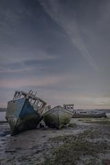 DILLIGAF (Merrik76) Tags: suffolk river orwell abandoned lowtide sunrise clouds fuji xt3 16mm pinmill