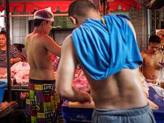 Plastic II (grapfapan) Tags: streetphotography plastic naked seller market ayutthaya thailand travel