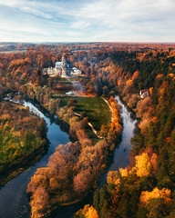 Dubrovitsy (liseykina) Tags: russia autumn nature drone fromabove landscape dubrovitsy river podolsk mavicpro