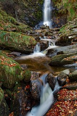 Re-Edit (spiritofwales.photo) Tags: waterfall northwales autumn river leaves water canon eos1div sunrise longexposure