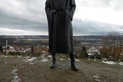 latex raincoat (lulax40) Tags: latex fetish rainwear rubberist gummimantel regenmantel aquoboots