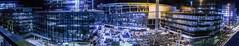 chase center construction progress panorama (pbo31) Tags: sanfrancisco california city urban night dark black november 2018 color nikon d810 boury pbo31 missionbay over chase center warriors nba basketball construction 3rd panorama large stitched panoramic blue site plaza entry arena sport