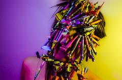 Crayshay Portrait Series 17 of 21 (Jef Harris) Tags: crayons mask portrait creativemakeup makeupartist beauty beautymua ottawacanada model nikond7000 submission mua fashion makeupupoftheday myartistcommunitycanada facepainting art