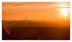 industrial romantic (rcfed) Tags: hasselblad mediumformat digital landscape sunset industrial romantic pit sky cloud