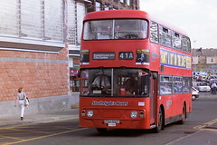 STRATHCLYDE'S BUSES LA1285 FSU102T (bobbyblack51) Tags: strathclydes buses la1285 fsu102t leyland atlantean alexander al glasgow 1995