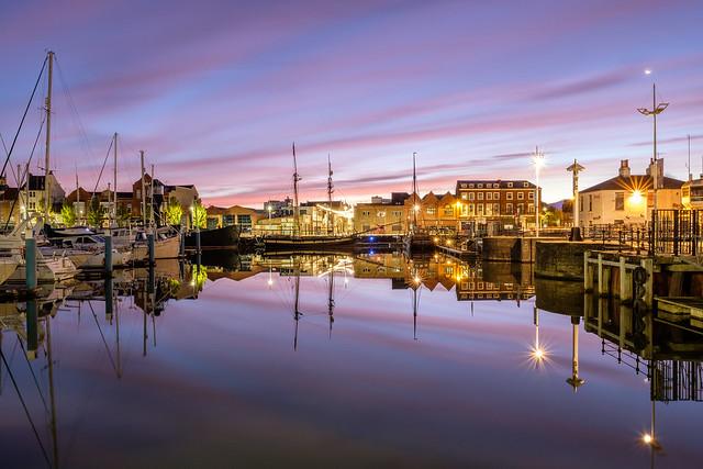 Hull Marina at Dawn