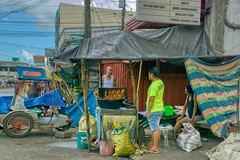 Chicken Shack (Beegee49) Tags: street market seller chicken shack sony a6000 happyplanet bacolod city philippines asia