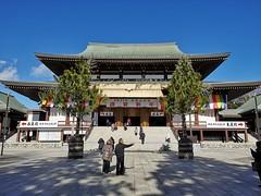 Great Hall (大本堂) (pantkiewicz) Tags: japan narita 日本 成田 成田山 naritasan great hall 大本堂