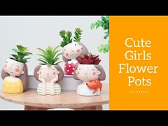 Unique Flower Pots - Perfect For Succulents And Indoor Plants (CoolHomeStyling) Tags: unique flower pots perfect for succulents and indoor plants