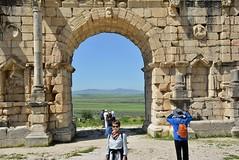 the main arch (cam17) Tags: morocco volubilis romanruins triumphalarch