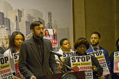 Matthew Roney for the 43rd Ward Ward Alderman City of Chicago Aldermanic Candidates Press Conference to Support Civilian Police Accountability Council Chicago Illinois 1-9-19 5584 (www.cemillerphotography.com) Tags: cops brutality shootings killings rekiaboyd laquanmcdonald oversight reform corruption excessiveforce expensivelawsuits policeacademy