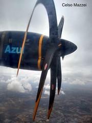 ATR-42-600 - Azulk LInhas Aéreas (celso.mazzei) Tags: air aeroporto avião aeronave aviação aerodromo aérea aircraft airplane aeronáutica aviation airforce aeronautica aero azul