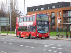 GAL WVL281 - LX59CYW - ELTHAM GREEN YORKSHIRE GREY - SAT 19TH JAN 2019 (Bexleybus) Tags: go ahead goahead london eltham green yorkshire grey roundabout south circular se9 tfl route 321 wrightbus gemini volvo b9 wvl281 lx59cyw