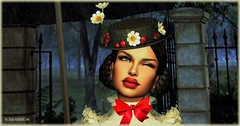 A Spoonful Of Sugar (Moxxie Kalinakova) Tags: portrait headshot brunette hat beauty emotion happy moxxie kalinakova disney