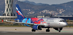 Aeroflot / Airbus A320-214 / VP-BWE (vic_206) Tags: aeroflot airbusa320214 vpbwe bcn lebl pbccskamoscowlivery