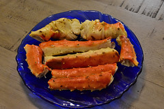 King crab dinner, Alaska (R-Gasman) Tags: travel food kingcrabdinner alaska usa