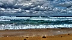 Chaos (elphweb) Tags: hdr highdynamicrange nsw australia coast coastal sea ocean water beach seaside clouds cloudy skies sky waves