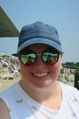 betting on the ponies (sassnasty) Tags: horse race racing arlington heights track illinois