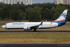TC-SEI SunExpress Boeing 737-8HC(WL) at Berlin Tegeal on 16 September 2018 (Zone 49 Photography) Tags: aircraft airliner aeroplane germany berlin deutschland september 2018 txl eddt tegal airport xq sxs sun express sunexpress boeing 737 800 8hc wl 738 tcsei