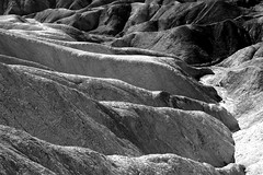 Shaped by nature (PeterCH51) Tags: zabriskiepoint deathvalley deathvalleynationalpark dvnp nationalpark california usa america landscape scenery desert erosion erosionallandscape desertlandscape desertscenery naturalwonder iconiclandscape beautifulview naturallandscape monochrome bw blackandwhite blackwhite peterch51 naturalshapes landscapebeauty