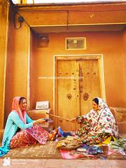 Abyaneh Village: (welcometoiran) Tags: woman man male female abyaneh abyane oldman oldwoman iran iranian irantravelagency iranians makeiranmemory welcometoiran welcometoirantours welcome worldheritagesite wood working windows moslem mosque