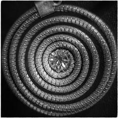 "Espiral (Marina Is) Tags: ~~hmm~~ macromondays square cuadrado center centro simetrico bw blancoynegro espiral ""center bw"""