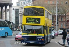 Dublin Bus RA293 (96D293). (Fred Dean Jnr) Tags: april2005 dublin dublinbus busathacliath dublinbusyellowbluelivery volvo olympian alexander r dublinbusroute77 ra293 96d293 collegegreendublin n960fkk rend