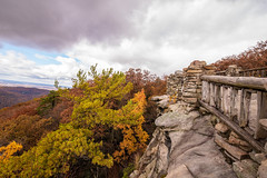 MCZ_2256 (markczerner) Tags: landscape outdoors fall colors fallcolors autumn orange red trees nature river coopers rock coopersrock statepark park west virginia wv wva countryroads country roads cheatriver valley mountains forest