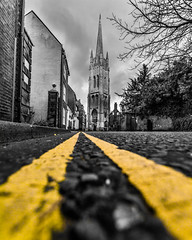 Louth evening (Andy barclay) Tags: louth lincolnshire sunset evening dusk night town street architecture church building wide angle sigma 1020mm d7100 nikon handheld