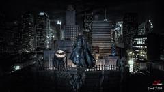 Batman Diorama 3D Printing (F.T.Aiello) Tags: batman 3d printing composing art painting redline filament photobyfränktaiello diorama letzengravelu