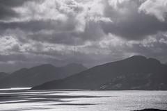 Dark (BlossomField) Tags: clouds fjord mountain bodø nordland norwegen nor