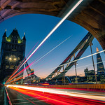 Tower bridge at sunset - London, England - Travel photography thumbnail