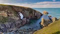 Black Arch (Mark Palombella Hart) Tags: sea seascape atmospheric wales anglesey photography photographer photooftheday potd photo longexposure rockformation autumn